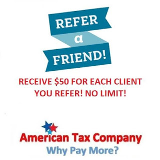 Refer a Friend and Earn Money! - American Tax Company